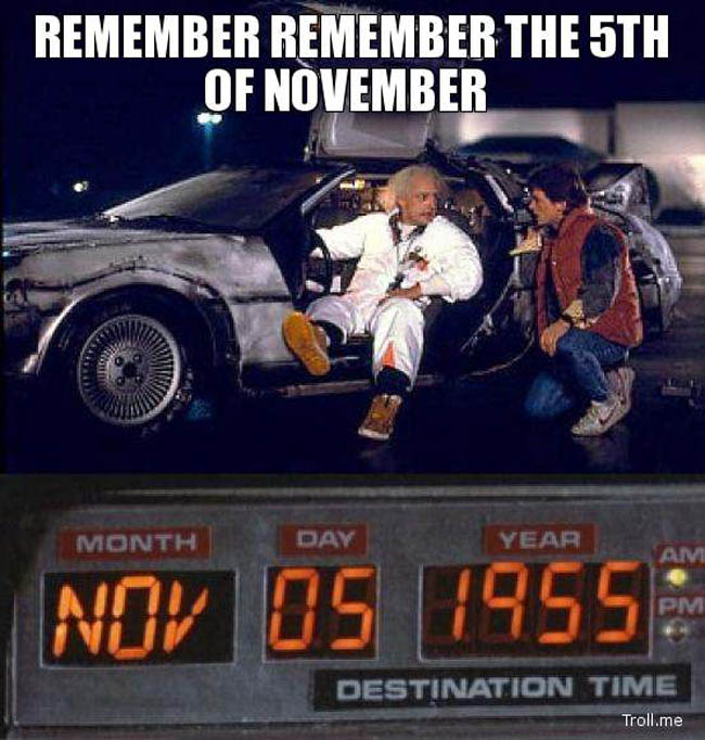 back to the future nov 5 date