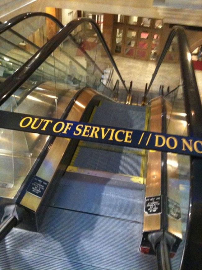 Escalator Out Of Order Stairs Doylez Com