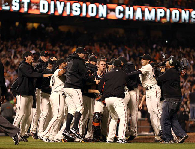 2012 San Francisco Giants NL West Champs