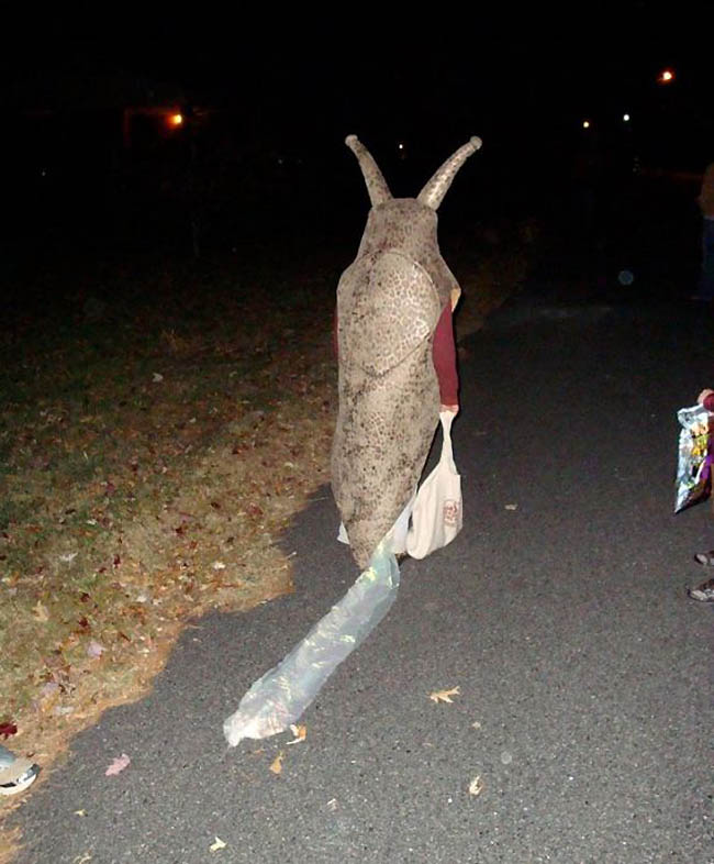 halloween slug costume