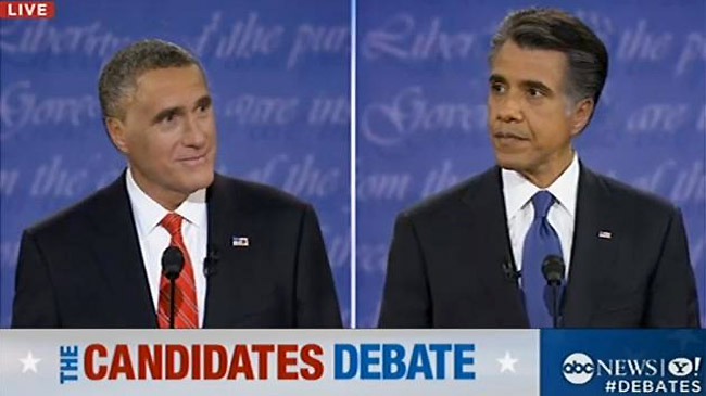 presidential candidates switching hairstyles